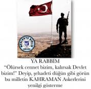 KAHRAMAN TÜRK ASKERİ