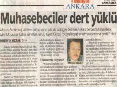 Milliyet Ankara Röportaj (1 Mayıs 2013)